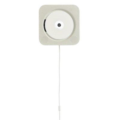 벽걸이형 CD 플레이어 · 화이트