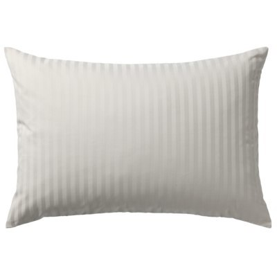 베개 커버ㆍ43×100ㆍ베이지 스트라이프 · 인도면
