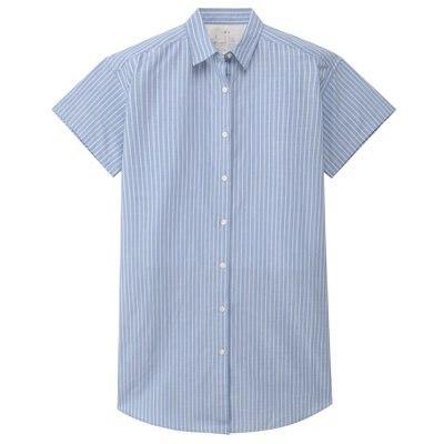 반소매 셔츠 튜닉