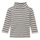 보더하이넥 긴소매 티셔츠 MEDIUM GRAY