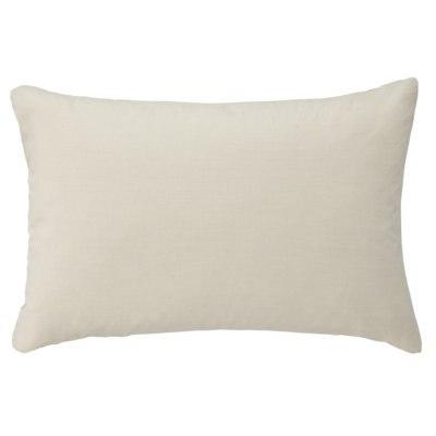 베개 커버 · 43×63cm 용 · 라이트 베이지 · 워싱면