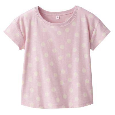 드롭 숄더 반소매 티셔츠
