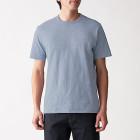 슬러브 저지 · 크루넥 반소매 티셔츠 LIGHT BLUE