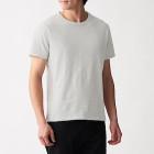 슬러브 저지 · 크루넥 반소매 티셔츠 LIGHT GRAY