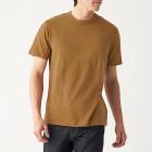 슬러브 저지 · 크루넥 반소매 티셔츠 ORANGE