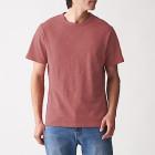 슬러브 저지 · 크루넥 반소매 티셔츠 SMOKY ORANGE
