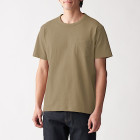 태번수 저지 · 포켓 반소매 티셔츠 BEIGE