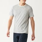 슬러브 저지 · 보더 반소매 티셔츠 OATMEALxBORDER