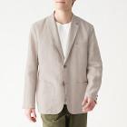 프렌치 리넨 · 재킷 RAW WHITE