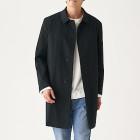 발수 · 스텐 칼라 코트 BLACK