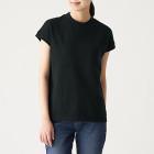 태번수 저지 · 프렌치 슬리브 티셔츠 BLACK