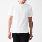 신강면 피케 · 반소매 폴로 셔츠 WHITE