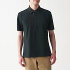 시원한 피케 · 우븐 폴로 셔츠 BLACK