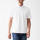 시원한 피케 · 우븐 폴로 셔츠 WHITE