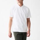 신강면 저지 · 반소매 폴로 셔츠 WHITE